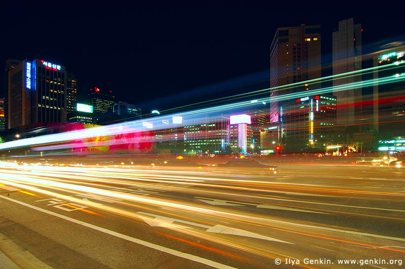 korea stock photography | Seoul at Night, South Korea, Seoul, South Korea, Image ID KR-SEOUL-0009