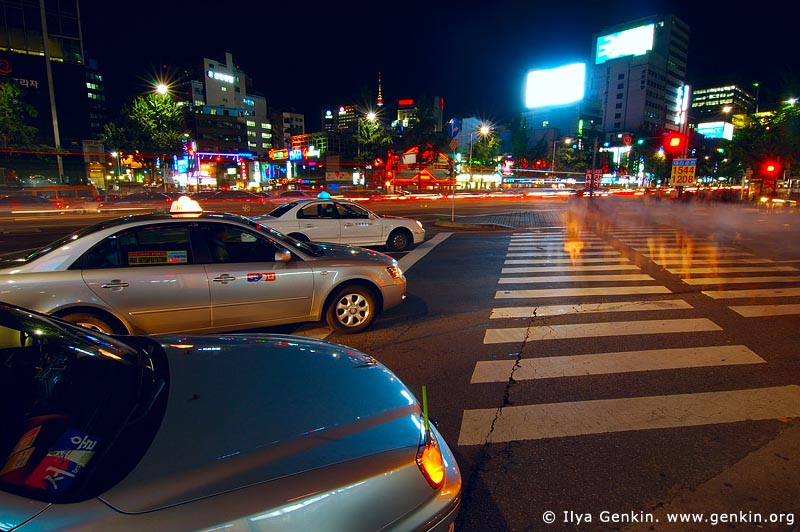 korea stock photography | Seoul at Night, South Korea, Seoul, South Korea, Image ID KR-SEOUL-0011