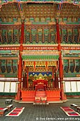 korea stock photography | The Throne at Geunjeongjeon Hall at Gyeongbokgung Palace in Seoul, South Korea, Seoul, South Korea, Image ID KR-SEOUL-GYEONGBOKGUNG-0003.