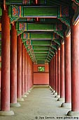 korea stock photography | West Corridor of Geunjeongjeon at Gyeongbokgung Palace in Seoul, South Korea, Seoul, South Korea, Image ID KR-SEOUL-GYEONGBOKGUNG-0007.