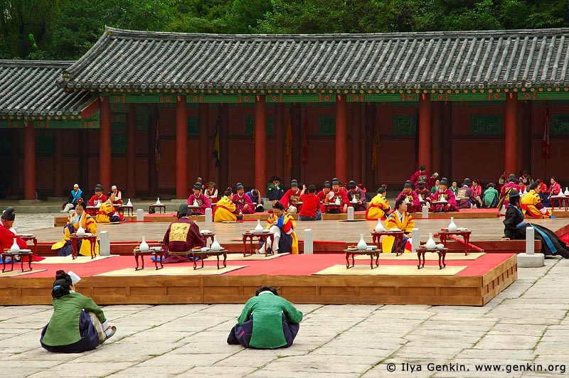korea stock photography | Ceremony at Gyeonghuigung Palace in Seoul, South Korea, Seoul, South Korea, Image ID KR-SEOUL-GYEONGHUIGUNG-0001