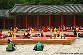 korea stock photography | Ceremony at Gyeonghuigung Palace in Seoul, South Korea, Seoul, South Korea, Image ID KR-SEOUL-GYEONGHUIGUNG-0001.