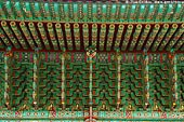 korea stock photography | Roof Decoration at Jogyesa Temple in Seoul, South Korea, Gyeonji-dong, Jongno-gu, Seoul, South Korea, Image ID KR-SEOUL-JOGYESA-0004.