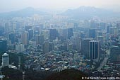korea stock photography | Seoul City, The view from N Seoul Tower in Seoul, South Korea provides a breathtaking 360 degree view of the city., Image ID KR-SEOUL-NAMSAN-0002.