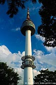korea stock photography | N Seoul Tower Rises Above Namsan Mountain in Seoul, South Korea, Namsan Mountain, Seoul, South Korea, Image ID KR-SEOUL-NAMSAN-0007.