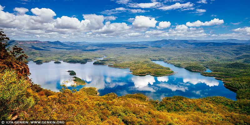 landscapes stock photography | Lake Burragorang, Blue Mountains, NSW, Australia, Image ID AU-LAKE-BURRAGORANG-0001