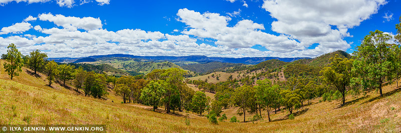 landscapes stock photography | Megalong Valley along Coxs River, Blue Mountains National Park, NSW, Australia, Image ID MEGALONG-VALLEY-0001