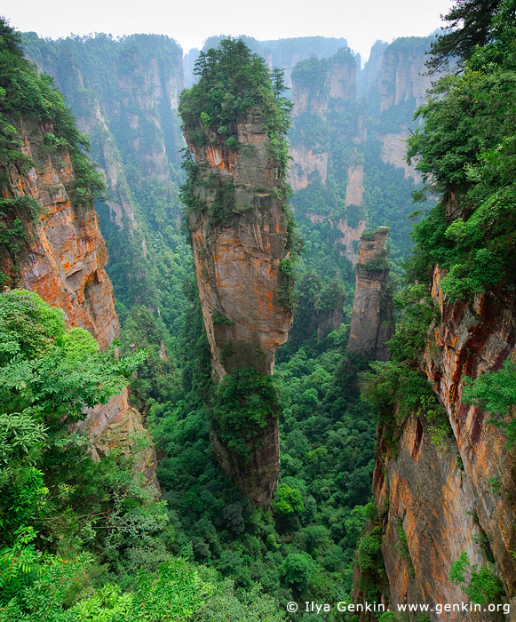 landscapes stock photography | Avatar Hallelujah Mountain, Tianzi Mountain Nature Reserve, Zhangjiajie National Park, Hunan, China, Image ID CHINA-WULINGYUAN-ZHANGJIAJIE-0003