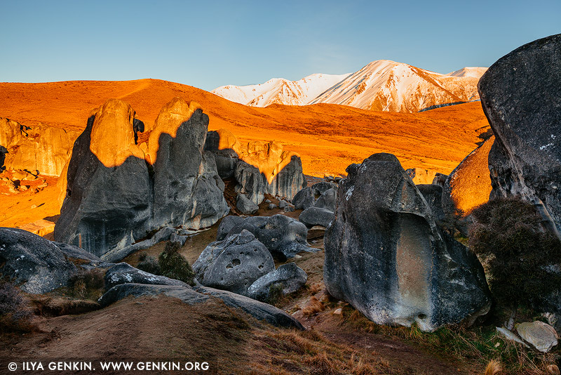 landscapes stock photography | Castle Hill, Canterbury Region, South Island, New Zealand, Image ID NZ-CASTLE-HILL-0005