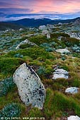 landscapes stock photography | Sunrise in the Snowy Mountains, Kosciusko National Park, Snowy Mountains, NSW, Australia, Image ID AU-KOSCIUSKO-0003.