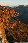 landscapes stock photography | Sunset at the Balconies, Reed Lookout, Formerly known as the 'Jaws of Death', Grampians National Park (Gariwerd), Victoria, Australia, Image ID GRAMP-0006.