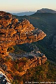landscapes stock photography | Sunset at the Balconies, Reed Lookout, Formerly known as the 'Jaws of Death', Grampians National Park (Gariwerd), Victoria, Australia, Image ID GRAMP-0007.