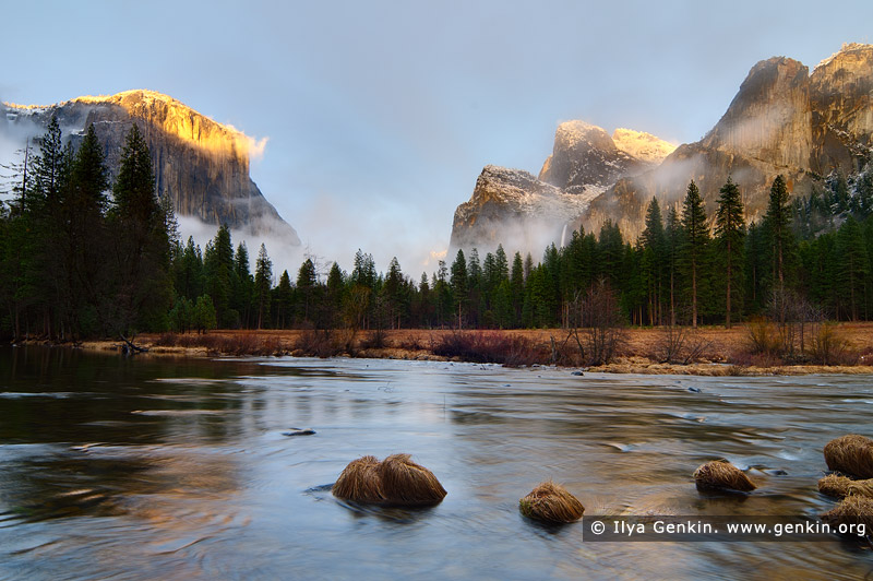 landscapes stock photography | El Capitan Over the Merced River, Gates of the Valley, Yosemite Valley, Yosemite National Park, California, USA, Image ID YOSEMITE-NATIONAL-PARK-CALIFORNIA-USA-0003