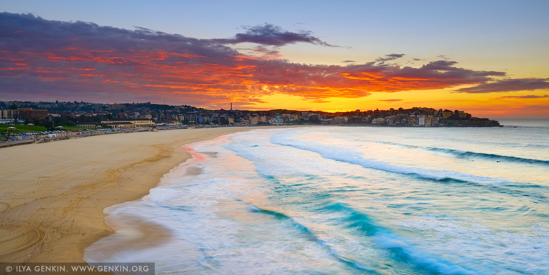 Amazing Sunrise Above Bondi Beach Print Photos