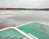 landscapes stock photography | Bondi Icebergs, Bondi Beach, Sydney, NSW, Australia, Image ID AU-BONDI-BEACH-0007. Minimalist and contemporary image of the Bondi Icebergs pool and Bondi Beach in Sydney, NSW, Australia.