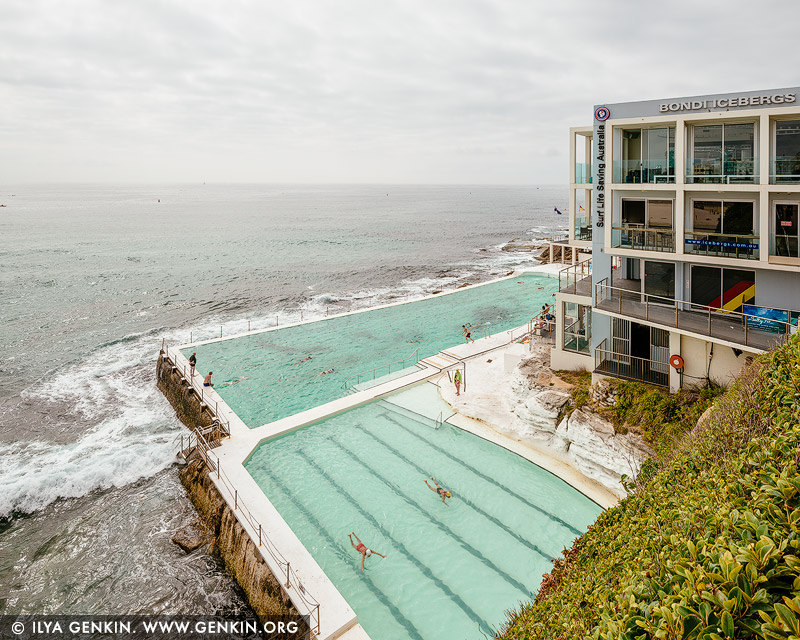 landscapes stock photography | A Day at Bondi Icebergs, Bondi Beach, Sydney, NSW, Australia, Image ID AU-BONDI-BEACH-0008