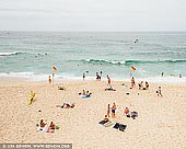landscapes stock photography | Summer Day, Bronte Beach, Sydney, NSW, Australia