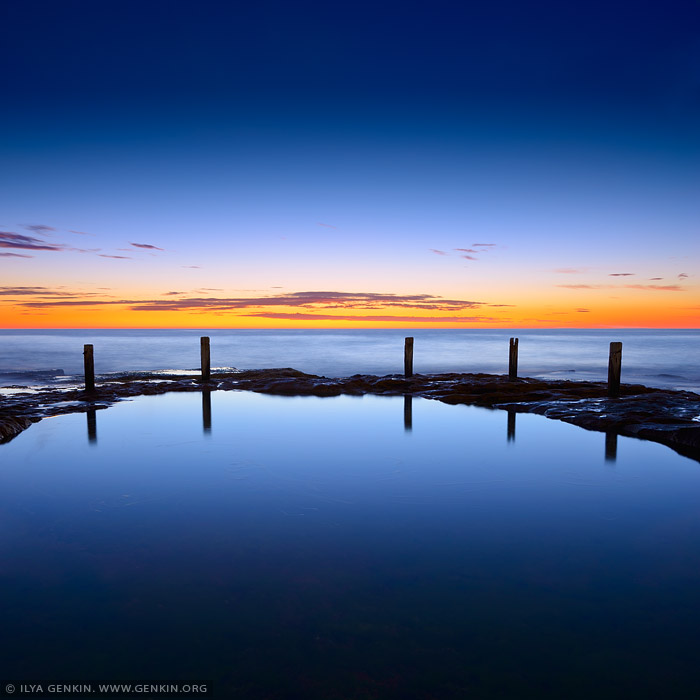 landscapes stock photography | Ivo Rowe Pool at Sunrise, Coogee, Sydney, NSW, Australia, Image ID AU-IVO-ROWE-POOL-0002