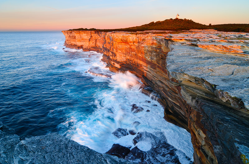landscapes stock photography | Cape Bailey at Sunrise, Kurnell Peninsula, Botany Bay National Park, Sydney, NSW, Australia, Image ID AU-NSW-CAPE-BAILEY-0001