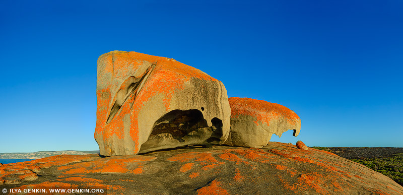 landscapes stock photography | The Remarkable Rocks at Sunrise, Flinders Chase National Park, Kangaroo Island, SA, Australia