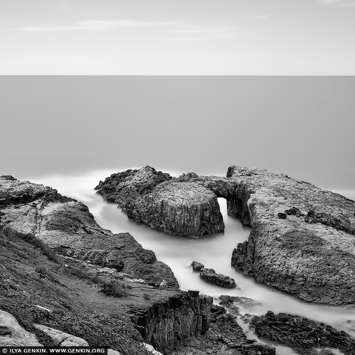landscapes stock photography   The Arch at Indian Head, Crowdy Bay National Park, Mid North Coast, NSW, Australia, Image ID AU-NSW-DIAMOND-HEAD-0001