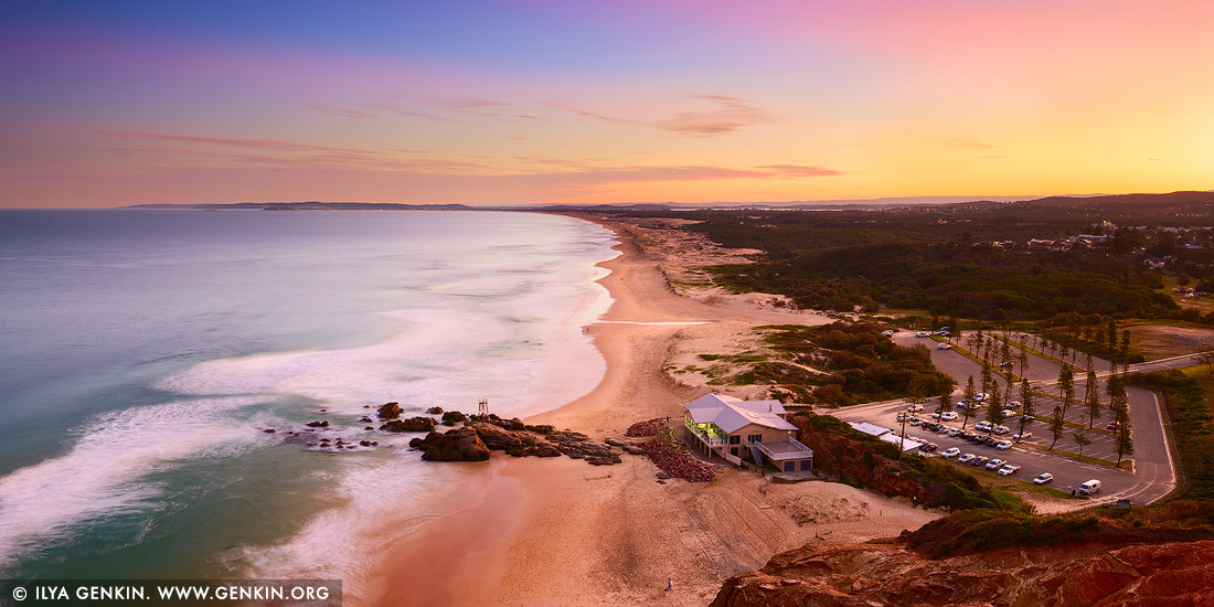 Redhead Australia  City pictures : | Redhead Beach at Sunset, City of Lake Macquarie, NSW, Australia ...