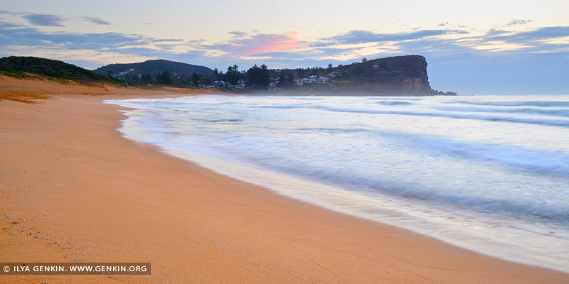 landscapes stock photography | Sunrise at Avalon Beach, Sydney, NSW, Australia, Image ID AU-AVALON-BEACH-0008