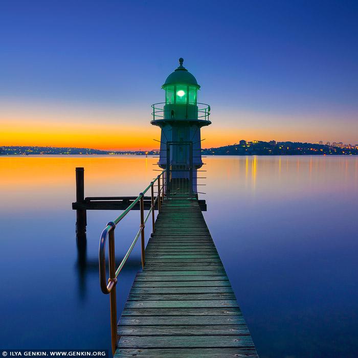 Light Warehouse Sydney: Bradleys Head Lighthouse At Sunrise Print, Photos