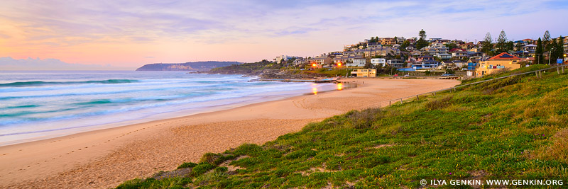 landscapes stock photography | Sunrise at South Curl Curl Beach, Sydney, NSW, Australia, Image ID AU-CURL-CURL-0005