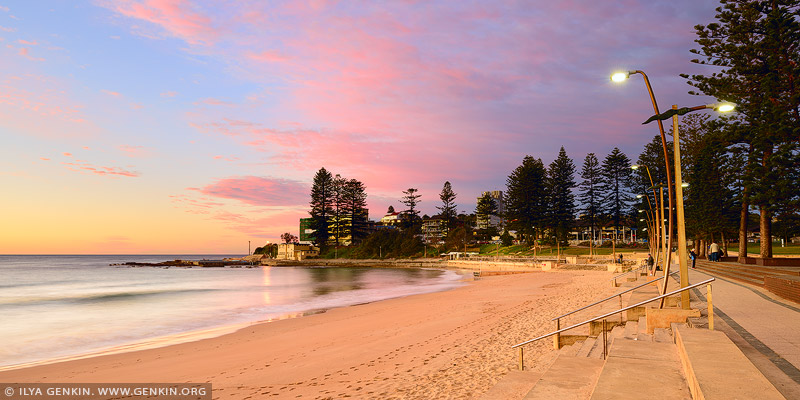 landscapes stock photography | Dee Why Beach at Dawn, Dee Why, Sydney, NSW, Australia, Image ID AU-DEE-WHY-BEACH-0001