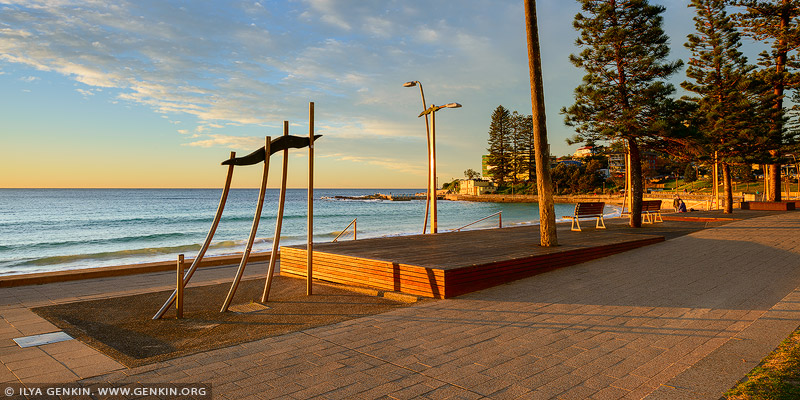 landscapes stock photography | Dee Why Beach Corso at Sunrise, Dee Why, Sydney, NSW, Australia, Image ID AU-DEE-WHY-BEACH-0002