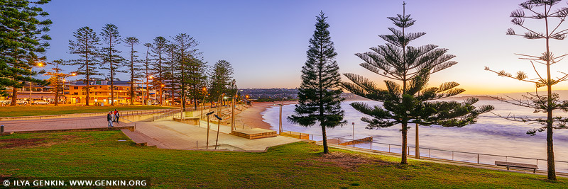 landscapes stock photography | Dee Why Beach at Twilight, Dee Why, New South Wales (NSW), Australia, Image ID AU-DEE-WHY-BEACH-0003