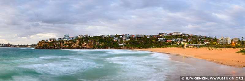 landscapes stock photography | Stormy Morning at Freshwater Beach, Sydney, NSW, Australia, Image ID AU-FRESHWATER-BEACH-0002