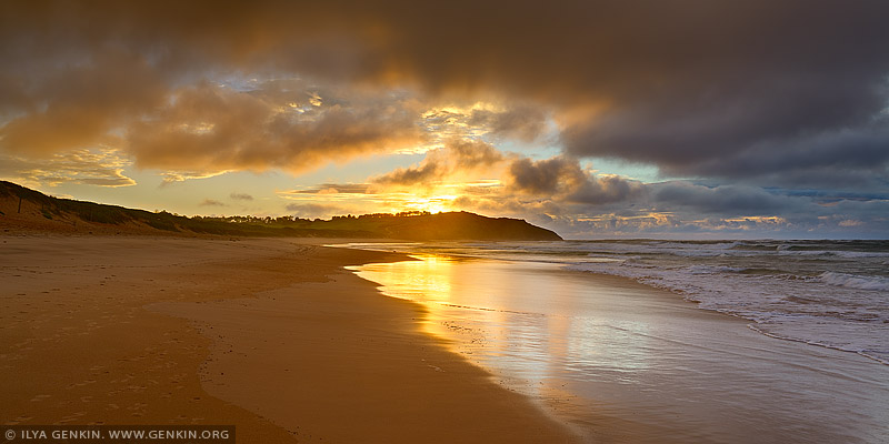 landscapes stock photography | Dramatic Sunrise at Long Reef Beach, Sydney, NSW, Australia, Image ID AU-LONG-REEF-BEACH-0001