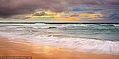 landscapes stock photography | Long Reef Beach and Pacific Ocean at Sunrise, Sydney, NSW, Australia, Image ID AU-LONG-REEF-BEACH-0002. Panoramic photo of dramatic and colourful sunrise over the Pacific Ocean and Long Reef Beach in Sydney, NSW, Australia.
