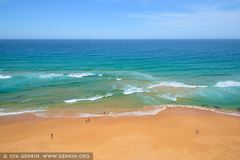 landscapes stock photography   Mona Vale Beach and Pacific Ocean, Sydney, NSW, Australia, Image ID AU-MONA-VALE-0008