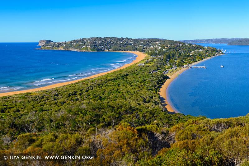 landscapes stock photography   Barrenjoey Lookout, Palm Beach, Sydney, NSW, Australia, Image ID PALM-BEACH-BARRENJOEY-0008