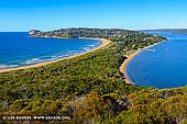 landscapes stock photography | Barrenjoey Lookout, Palm Beach, Sydney, NSW, Australia, Image ID PALM-BEACH-BARRENJOEY-0008. Palm Beach from Barrenjoey Headland Lookout. Sydney residents and visitors for many years have been walking the steep track to the summit, to be rewarded with spectacular views of Broken Bay.
