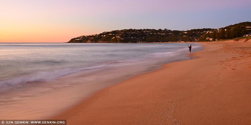landscapes stock photography | Palm Beach at Dawn, Palm Beach, Sydney, NSW, Australia, Image ID PALM-BEACH-BARRENJOEY-0009