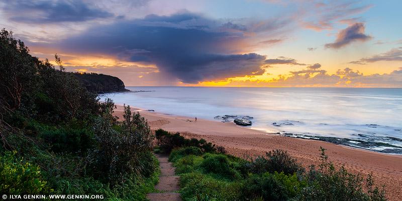 landscapes stock photography | Stormy Morning at Turimetta Beach, Turimetta Beach, Sydney, NSW, Australia, Image ID TURIMETTA-BEACH-0001