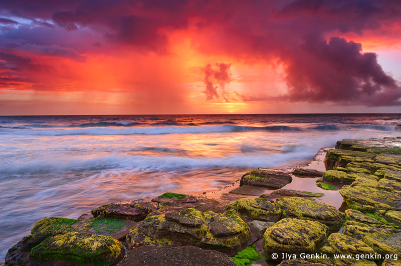 Storm Clearing over Turimetta Beach, Sydney, NSW, Australia