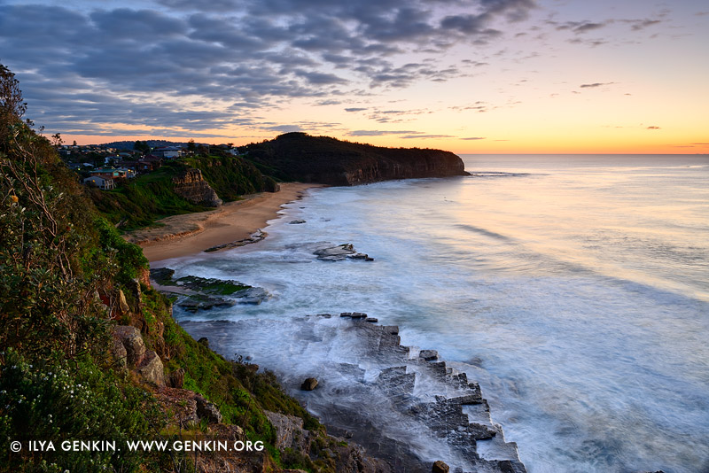 landscapes stock photography | Colourful Sunrise at Turimetta Beach, Sydney, NSW, Australia, Image ID TURIMETTA-BEACH-0021