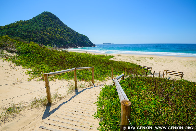 landscapes stock photography | Zenith Beach, Tomaree National Park, Port Stephens, NSW, Australia, Image ID AU-ZENITH-BEACH-0004