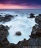landscapes stock photography | Long Nose Point at Sunrise, Broulee Bay, Eurobodalla Shire, New South Wales (NSW), Australia, Image ID AU-LONG-NOSE-POINT-0004.
