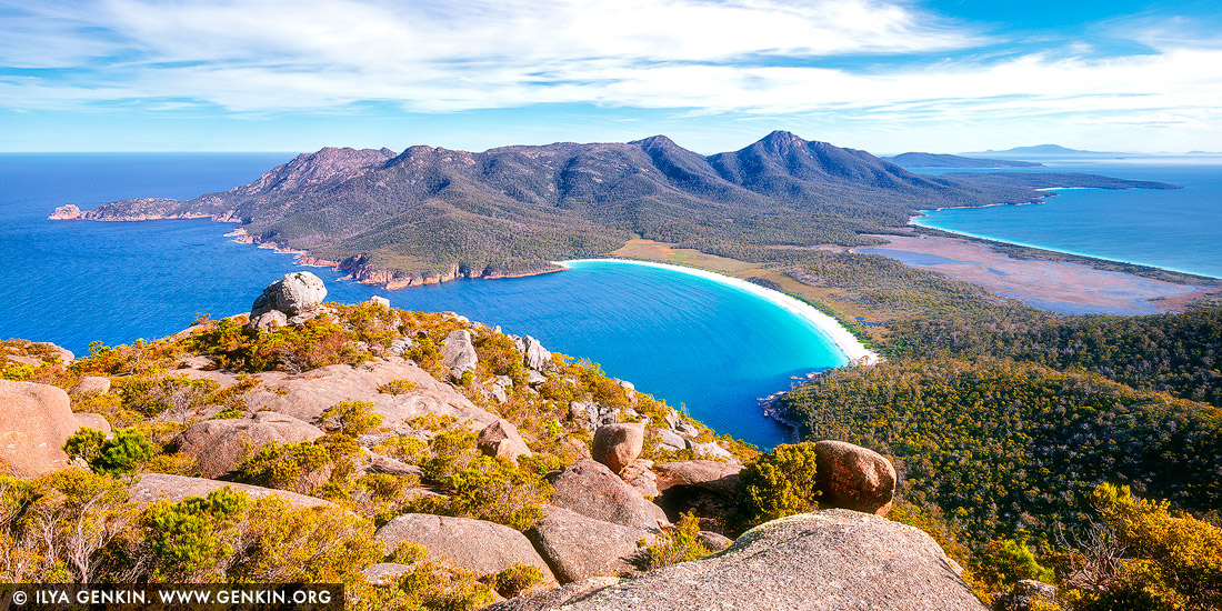 how to get to wineglass bay