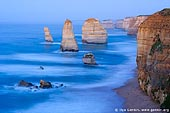 landscapes stock photography | The Twelve Apostles Before Sunrise, The Twelve Apostles, Great Ocean Road, Port Campbell National Park, Victoria, Australia, Image ID APOST-0011.