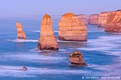 landscapes stock photography | The Twelve Apostles at Twilight, The Twelve Apostles, Great Ocean Road, Port Campbell National Park, Victoria, Australia, Image ID APOST-0013.