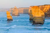 landscapes stock photography | The Twelve Apostles at Sunrise, The Twelve Apostles, Great Ocean Road, Port Campbell National Park, Victoria, Australia, Image ID APOST-0015.