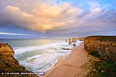 landscapes stock photography | Storm Clearing at The Twelve Apostles, The Twelve Apostles, Great Ocean Road, Port Campbell National Park, Victoria, Australia, Image ID APOST-0029. Storm clearing at sunrise at The Twelve Apostles along the Great Ocean Road in Victoria, Australia.