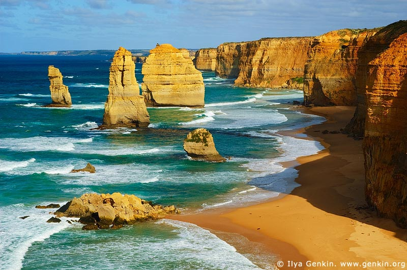 landscapes stock photography | Twelve Apostles, Great Ocean Road, Port Campbell National Park, Victoria, Australia, Image ID APOST-0001